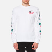 Billionaire Boys Club Men's Paradise Print Long Sleeve T-Shirt - White