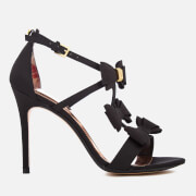 Ted Baker Women's Appolini T Bar Triple Bow Heeled Sandals - Black