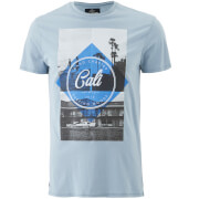 T-Shirt Homme Surf Goods Threadbare - Bleu Clair
