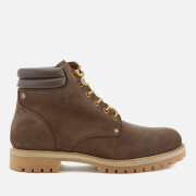 Jack & Jones Men's Stoke Nubuck Worker Boots - Java