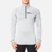 adidas Terrex Men's TX Icesky 2 Long Sleeve Fleece Jumper - Clear Onix