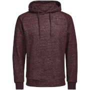 Jack & Jones Men's Core Win Textured Hoody - Fudge