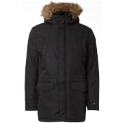 Jack & Jones Men's Core Land Parka Jacket - Black