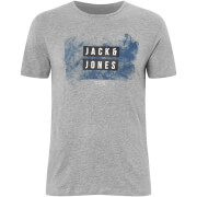 Jack & Jones Core Men's Atmos T-Shirt - Light Grey Marl