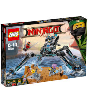 The LEGO Ninjago Movie: Guerrero acuático (70611)