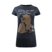 Beauty and the Beast Ladies Tale As Old As Time T-Shirt - Dark Heather