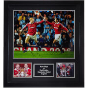 Ryan Giggs and Paul Scholes Dual Signed 16 x 20 Photograph