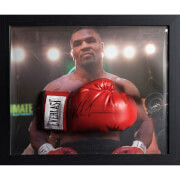 Mike Tyson Signed and Framed Boxing Glove