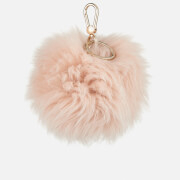 Furla Women's Bubble Keyring Pom Pom - Rosa Chiaro C