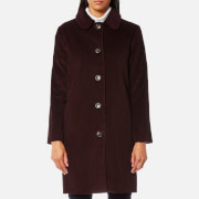 A.P.C. Women's Lilli Coat - Bordeaux
