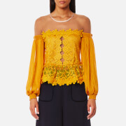 Three Floor Women's Mellow Top - Saffron