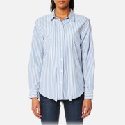 Levi's Women's Sidney One Pocket Boyfriend Shirt - Basswood Quiet Harbor