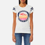 Superdry Women's Beach Surplus T-Shirt - Jungle Cream Slub