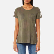 Superdry Women's Essential Pocket T-Shirt - Vine Khaki