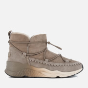 Ash Women's Mitsouko Suede Ankle Boots - Taupe
