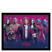 Guardians of the Galaxy Vol. 2 (Characters Vol. 2) Framed 30 x 40cm Print
