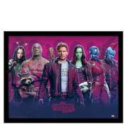 Affiche Encadrée Gardiens de la Galaxie Vol.2 30 x 40 cm