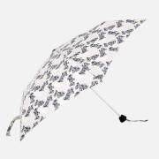 Radley Women's Folk Dog Mini Telescopic Umbrella - Chalk