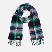 Joules Women's Bracken Soft Scarf - French Navy Check