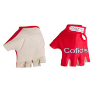 Cofidis Lycra Mitts 2017 - Red/White