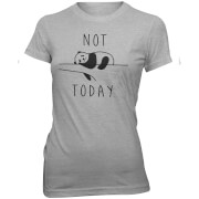 Not Today Panda Women's Slogan T-Shirt
