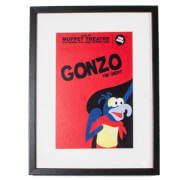 Disney Gonzo Gallery Framed Printed Wall Art