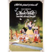 Disney Snow White 1983 Printed Canvas Wall Art