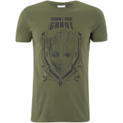 Marvel Männer Guardians of the Galaxy Groot T-Shirt - Grau
