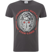 Marvel Guardians of the Galaxy Vol. 2 Star Lord Helmet Heren tshirt - Zwart