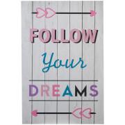 Premier Housewares Kids Follow Your Dreams Wall Plaque