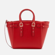 Aspinal of London Women's Marylebone Medium Tote Bag - Scarlet