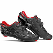 Sidi Shot Limited Edition Carbon Cycling Shoes - Black/Red