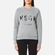 MSGM Women's Logo Sweatshirt - Grey