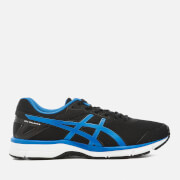 Asics Running Men's Gel Galaxy 9 Trainers - Black/Directorie Blue/White