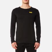 Jack Wolfskin Men's Essential Long Sleeve T-Shirt - Black
