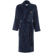 Ben Sherman Men's Henry Fleece Robe - Navy