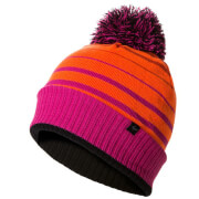 Sealskinz Waterproof Bobble Hat - Orange/Pink/Black