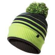 Sealskinz Waterproof Bobble Hat - Black/Yellow