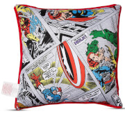 Disney Marvel Comics Retro Cushion