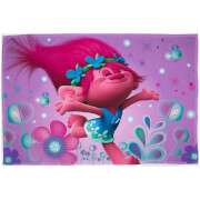 Trolls Glow Coral Fleece Blanket