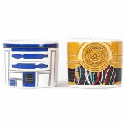 Star Wars R2D2 & C3PO Set of 2 Egg Cups