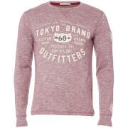 Camiseta manga larga Tokyo Laundry Timperley - Hombre - Rojo