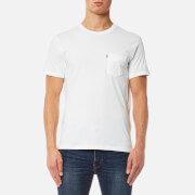 Levi's Men's Short Sleeve Set-In Sunset Pocket T-Shirt - Whitesmoke