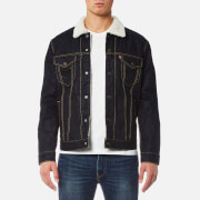 Levi's Men's Type 3 Sherpa Trucker Jacket - Raw Power Sherpa