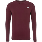 Le Shark Men's Calvin Crew Neck Jumper - Wine Tasting