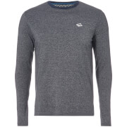 Le Shark Men's Highgate Long Sleeve Top - Navy Fleck