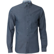 Le Shark Men's Tobruk Oxford Twill Long Sleeve Shirt - Dress Blue