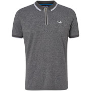 Le Shark Men's Holmdale Zip Polo Shirt - Asphalt