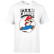Nintendo Super Mario Cardio Men's White T-Shirt