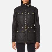 Barbour International Women's Heyford Wax Jacket - Black